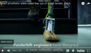 """""""Smart"""" prosthetic ankle takes fear out of rough terrain, stairs"""