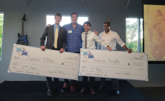 PredictionHealth wins 1st place at 36|86 Festival 2018
