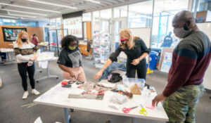 Fashion with function: Students express themselves through their masks
