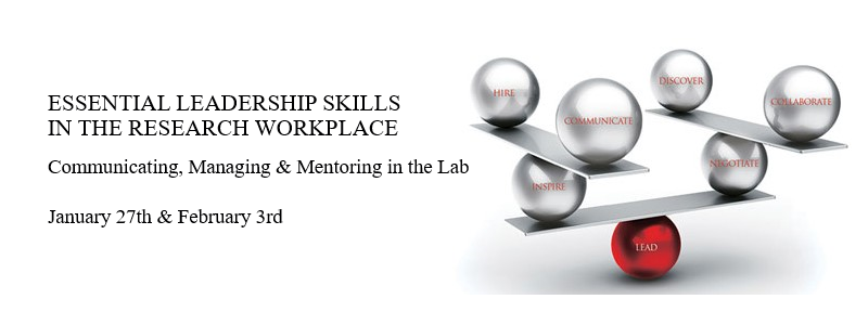 Join us for this two-part workshop for STEM graduate students! Registration is required.