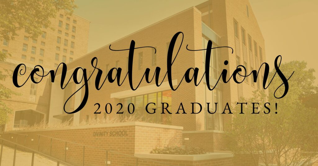 Congratulations 2020 Graduates