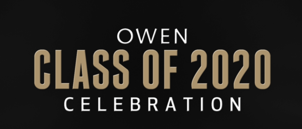 Owen Class of 2020 Celebration