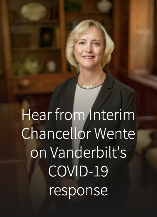 Hear from Interim Chancellor Wente