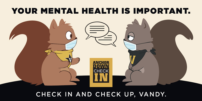 Anchor Down Check In squirrels graphic