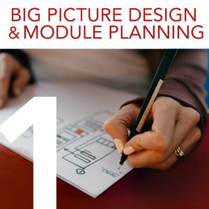Part 1 Big Picture Design and Module Planning
