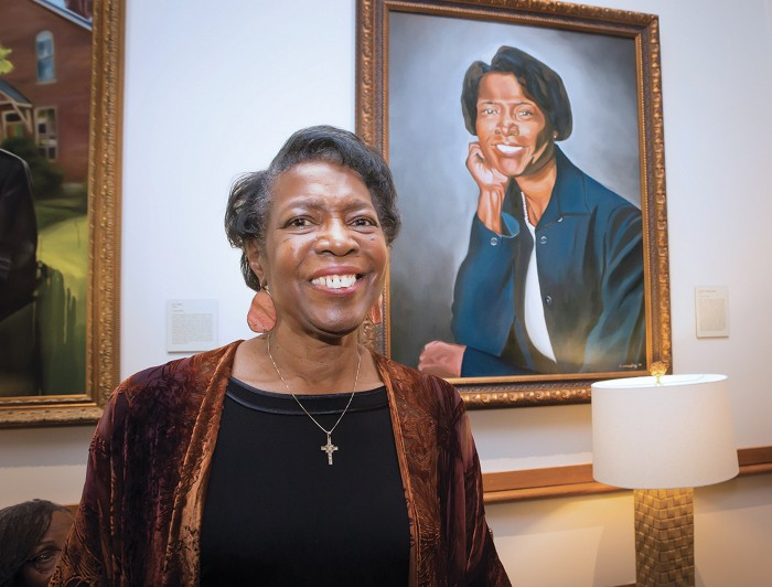 Dorothy Wingfield Phillips, Ph.D., the first African American woman to receive an undergraduate degree from Vanderbilt.