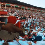 Virtual Reality Running with the Bulls