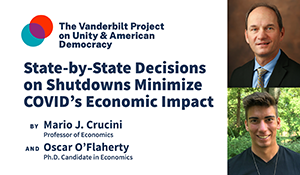 State-by-State Decisions on Shutdowns Minimize COVID's Economic Impact