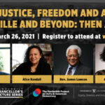 Register for March 26 Racial Justice Symposium featuring Meacham, Randall, Lawson and more.