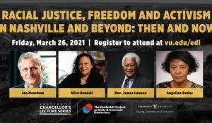 WATCH NOW: Mar. 26 Racial Justice Symposium featuring co-chair Jon Meacham, Rev. James Lawson and many more