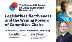 Legislative Effectiveness and the Waning Powers of Committee Chairs