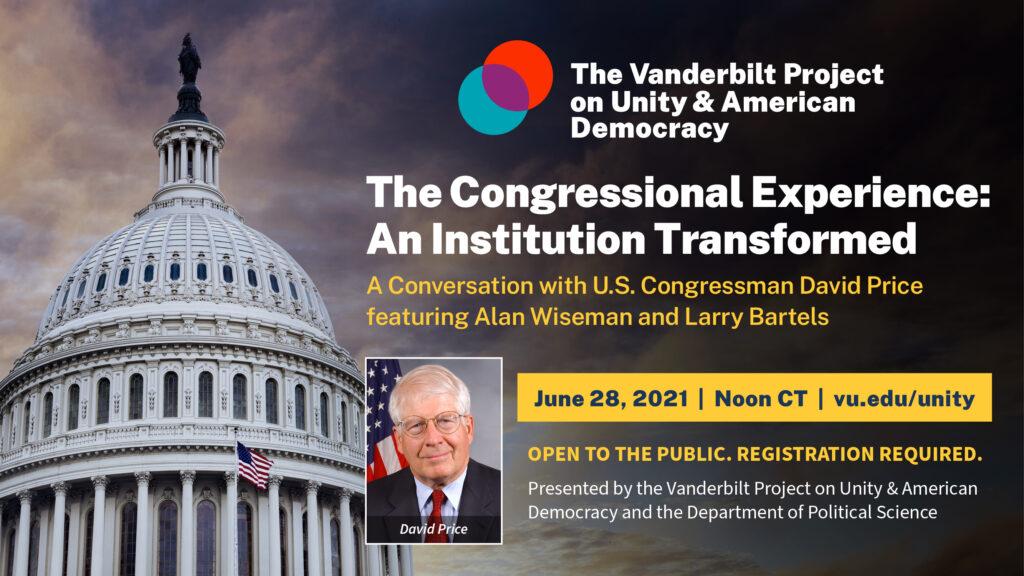 David Price Congress event