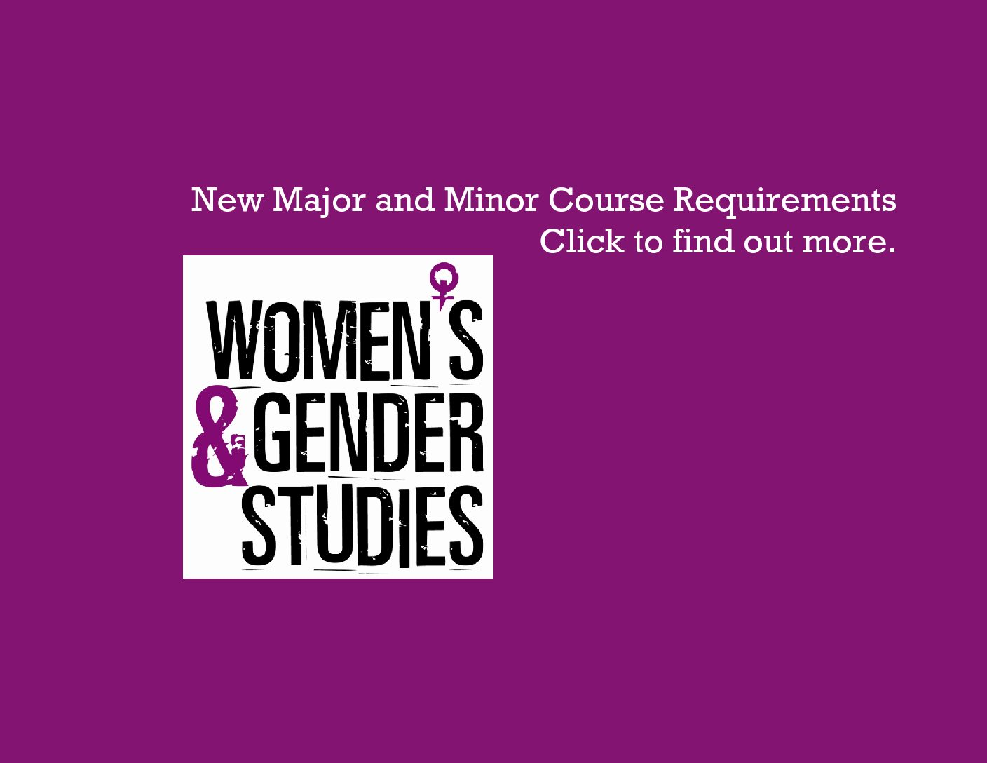 Approved courses for major/minor requirements
