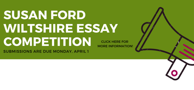 Wiltshire Essay Competition 2019