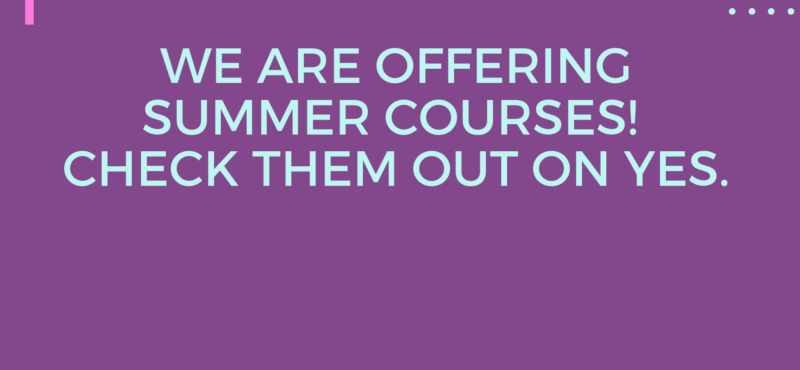 Summer 2019 Courses