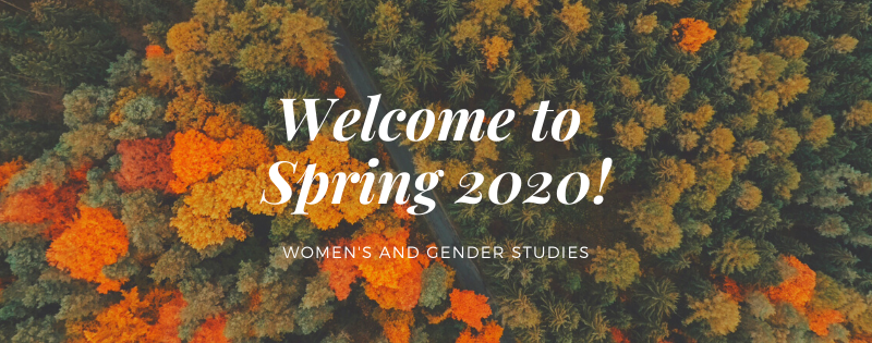 Welcome to Spring 2020 from WGS