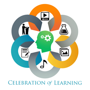 Logo for the Celebration of Learning event