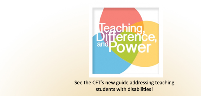 Teaching Students with Disabilities | Center for Teaching