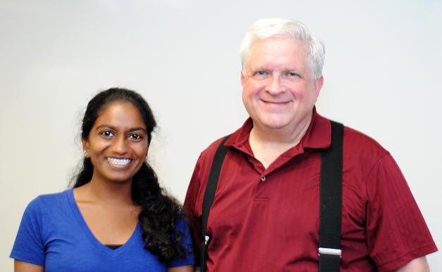 Sandya Lakkur and Robert Johnson