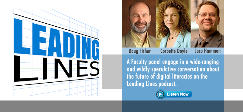 Faculty Panel Considers Future of Digital Literacies on Leading Lines Podcast