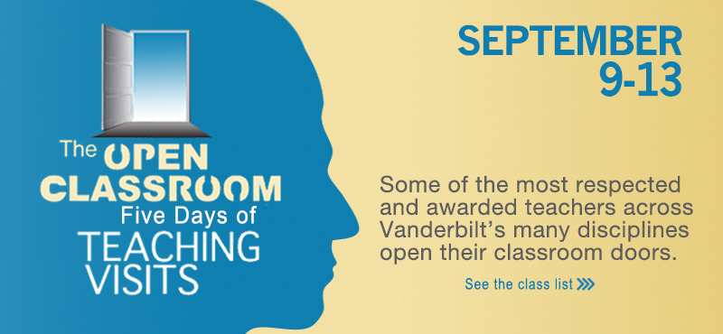 The Open Classroom: Five Days of Teaching Visit