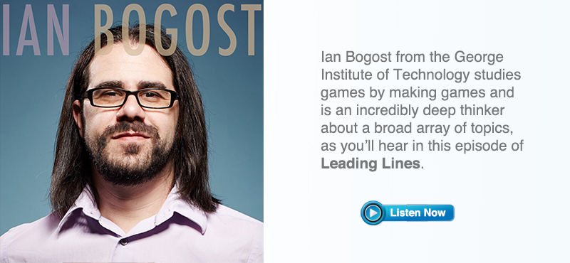 Leading Lines Podcast Featuring Ian Bogost