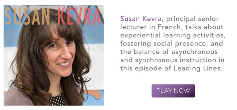 Leading Lines Ed Tech Podcast with Susan Kevra