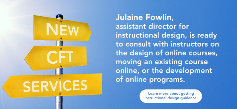 Instructional Design Consultation
