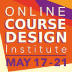graphic logo for the Online Course Design institute