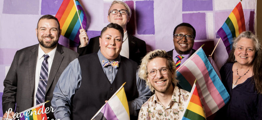 Photo of staff from KC Potter Center for LGBTQI Life