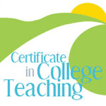 Grapic logo for the Certificate in College Teaching Program