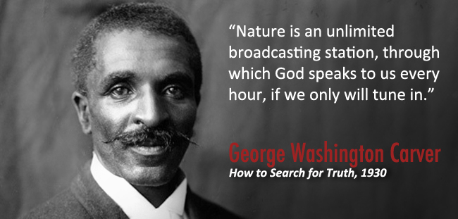 """Nature is an unlimited broadcasting station, through which God speaks to us every hour, if we only will tune in."""