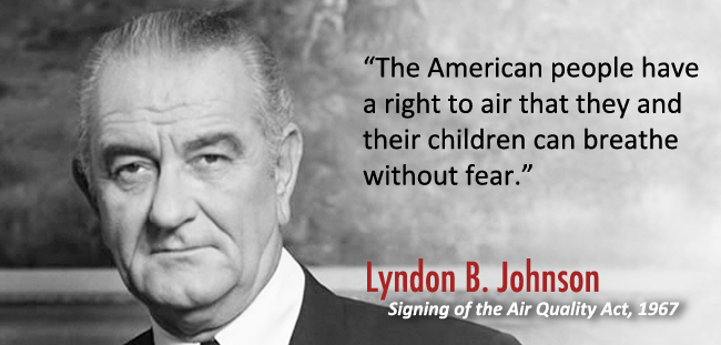 """The American people have a right to air that they and their children can breathe without fear."""