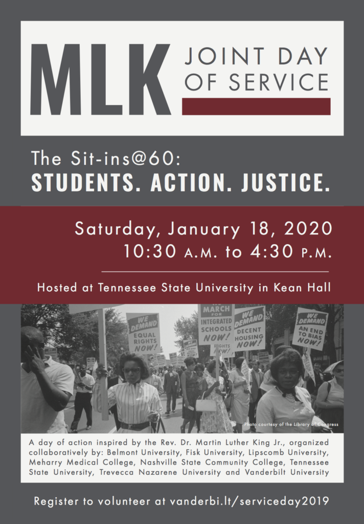 MLK Joint of Service Poster