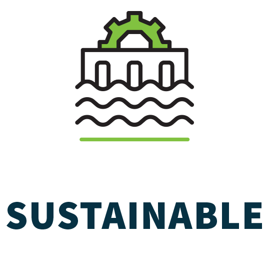 Invest in SUSTAINABLE infrastructure