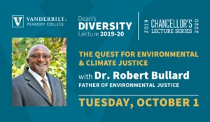 Robert Bullard, 'father of environmental justice,' to give keynote lecture Oct. 1