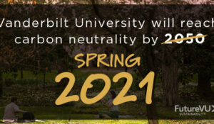 Vanderbilt announces new collaboration to accelerate efforts to address its carbon footprint and tackle climate change