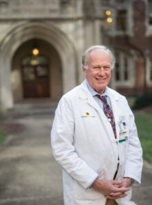 John Newman, M.D., says Vanderbilt's structure and strength in bioinformatics make it an ideal member of the Undiagnosed Diseases Network. Photo by John Russell.