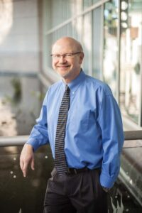 David Hall, M.D., oversees Eli's complex care, which is managed by multiple specialists. Photo by Daniel Dubois.