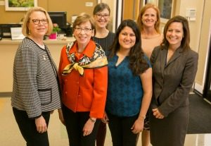 Pam Jones, Marilyn Dubree, Abby Luck Parish, Shelza Rivas, Melissa Davis, April Kapu