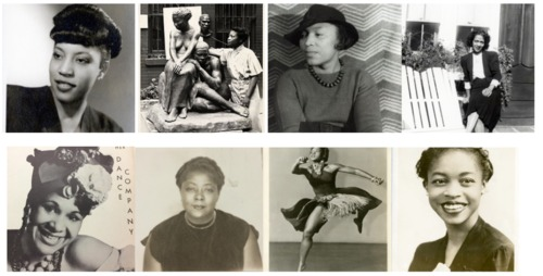 "Prof. Raquelle Bostow's digital archival exhibit ""WOMEN OF ROSENWALD: CURATING SOCIAL JUSTICE THROUGH THE ARTS (1928-1948)"""