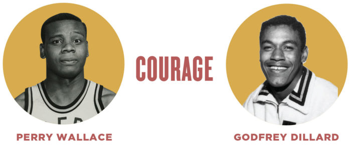 COURAGE and Photos of Wallace and Dillard