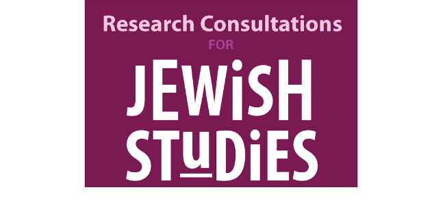 Weekly Jewish Studies library open house announced