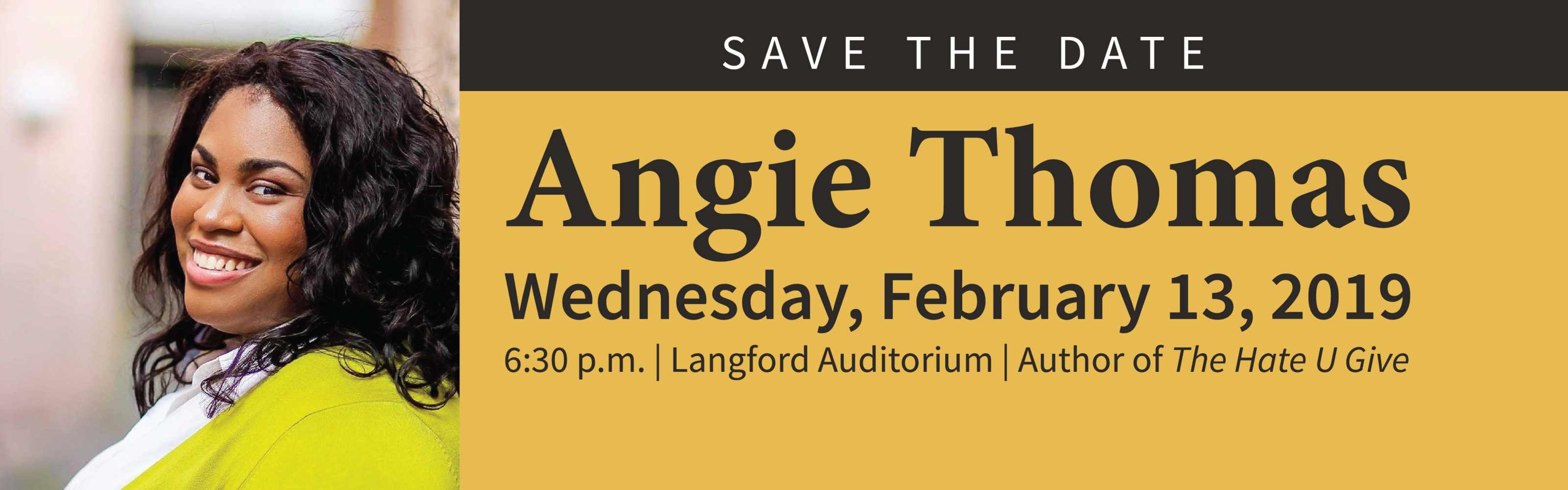 Angie Thomas Book Discussion and Author Keynote